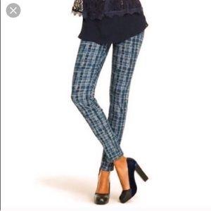 Cabi | Patterned Skinny Jeans